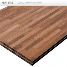 멀바우 집성재 glued laminated baud