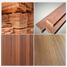 하드우드 루바   wood board  plank