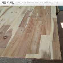 24T,아카시아  glued laminated wood  solid  집성재