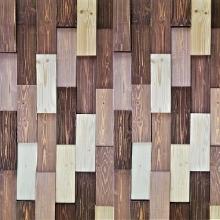 브라운. 모자이크블럭 wood Colour mosaic 랜덤