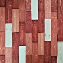 레드.모자이크 블럭  wood Colour mosaic 랜덤